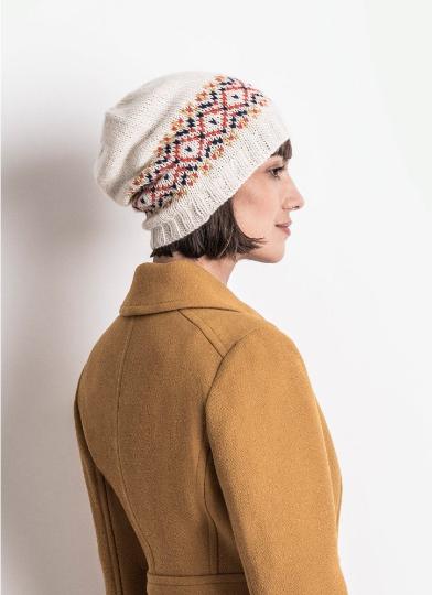 Hanley Falls Hat - Knitting Pattern by Blue Sky Fibers