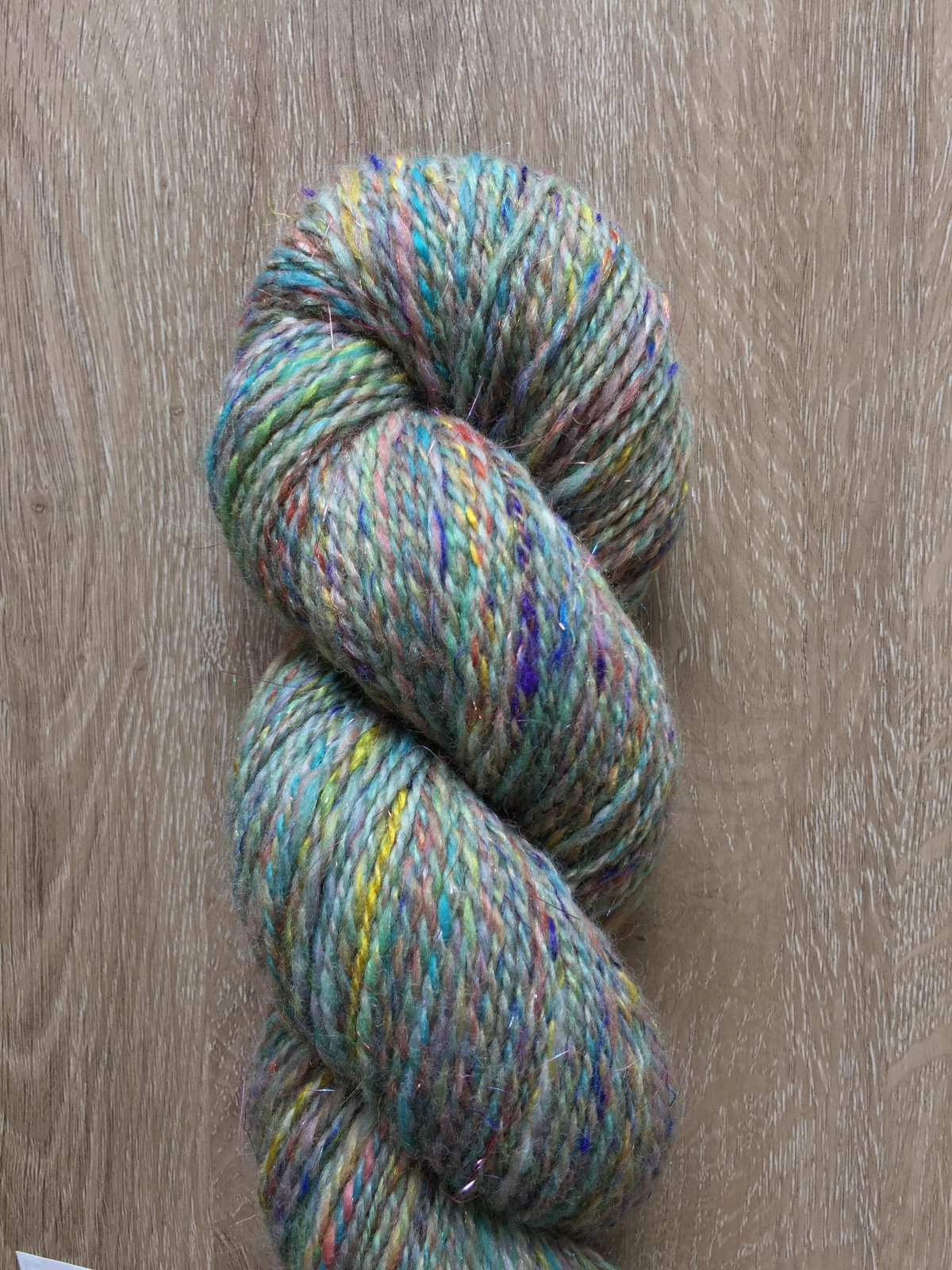 Rainbow Trout - Handspun Artisan Yarn