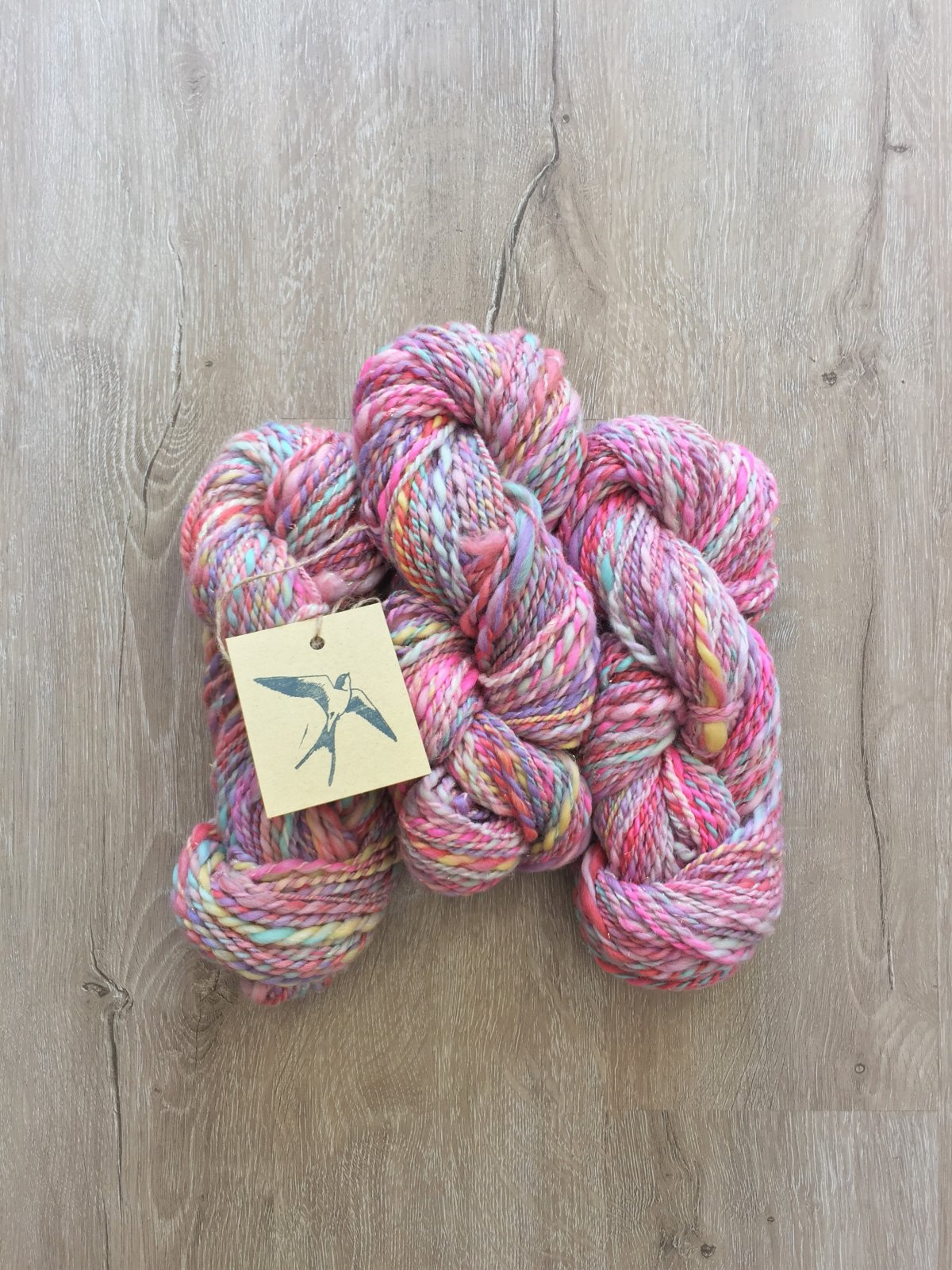 Enchanted Unicorn Handspun Merino Wool Sparkle blend