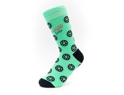 Socks for the Sewist - Jadeite Bobbins  - Gift for Quilters