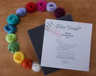 Deluxe Needle Felting Kit - Fiber Trends