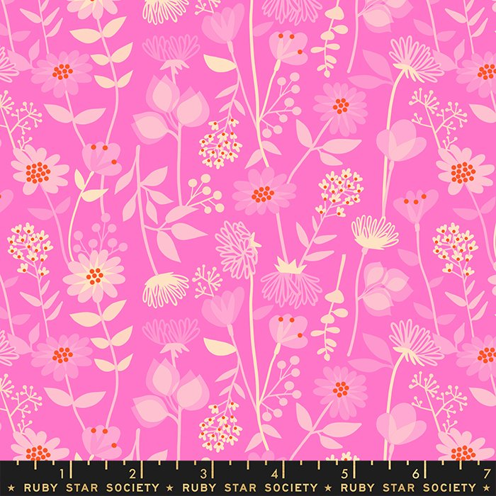 Meadow in Lipstick - PREORDER - Stay Gold by Melody Miller - Ruby Star Society Fabrics