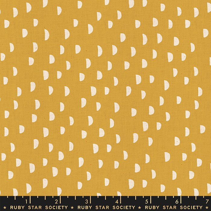 Moons in Butter  - PREORDER  - Heirloom by Alexia Abegg - Ruby Star Society Fabrics