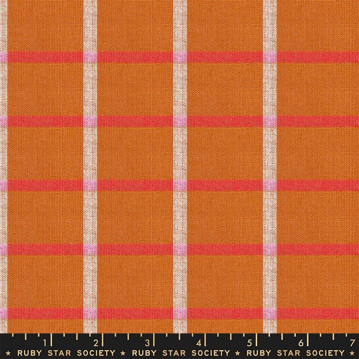 Solar in Saddle - PREORDER  - Heirloom Warp & Weft Wovens by Alexia Abegg - Ruby Star Society Fabrics