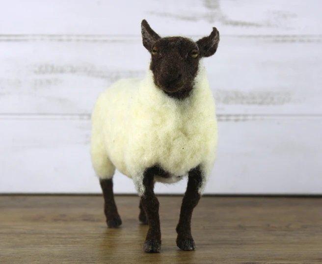 Sheldon the Sheep Needle Felting Kit