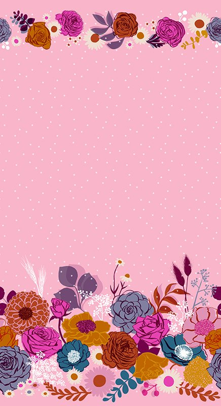 Shine in Peony  - Rise by Melody Miller - Ruby Star Society Fabrics