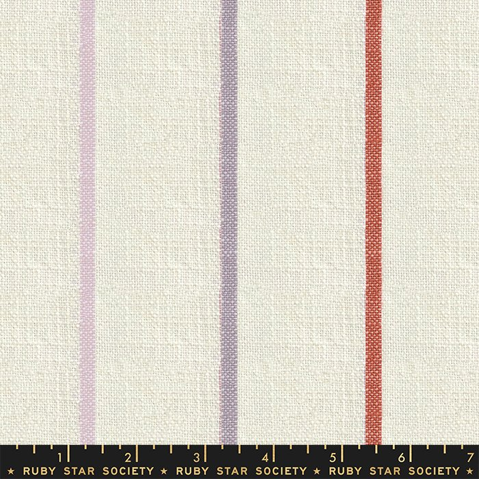 Chore Coat Stripe in Sunset - PREORDER  - Heirloom Warp & Weft Wovens by Alexia Abegg - Ruby Star Society Fabrics