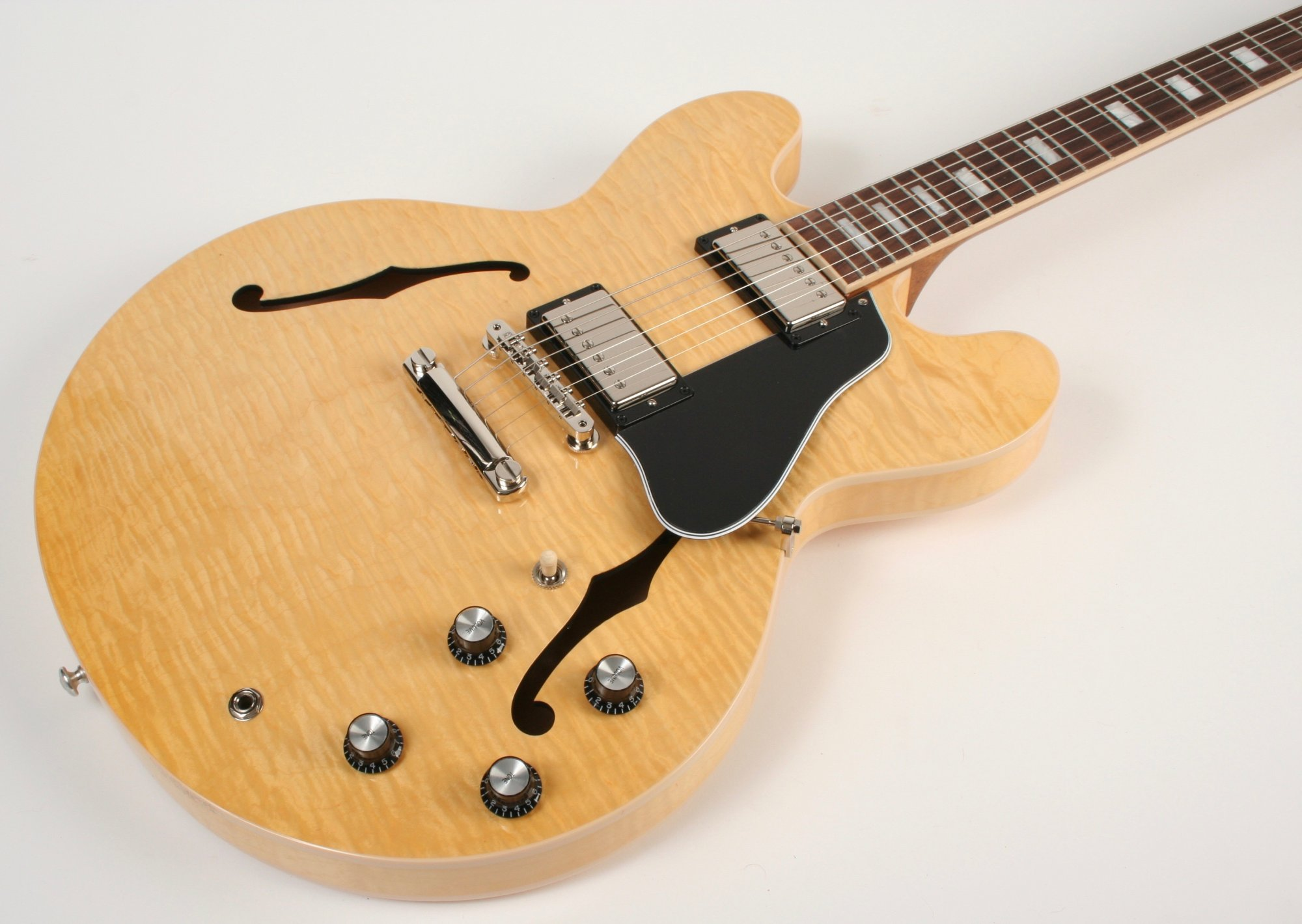 Gibson ES-335 Figured Antique Natural Original Collection