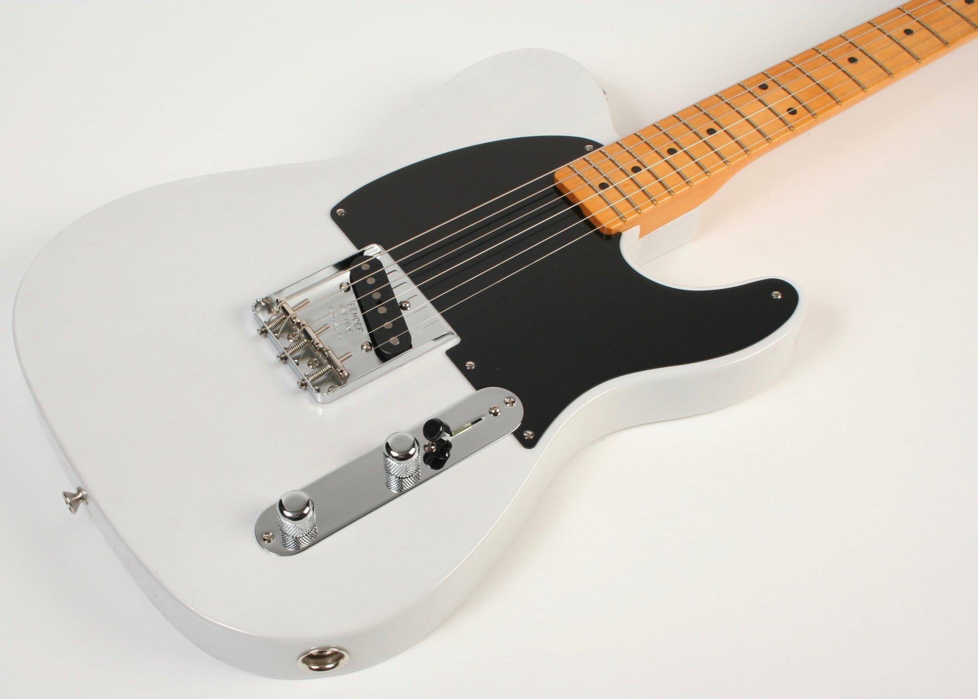 Fender 70th Anniversary Pine Esquire White Blonde
