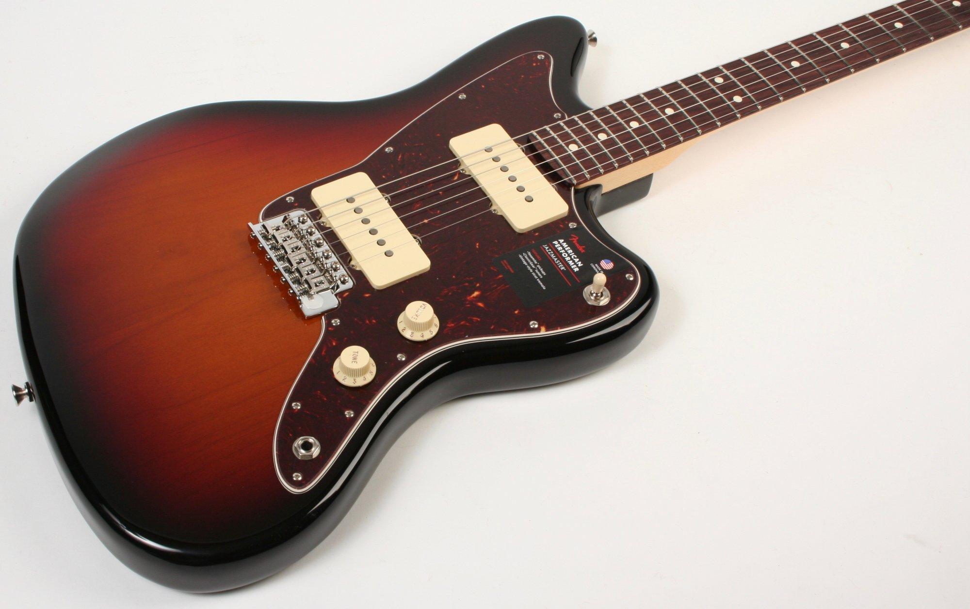 Fender American Performer Jazzmaster RW 3TSB