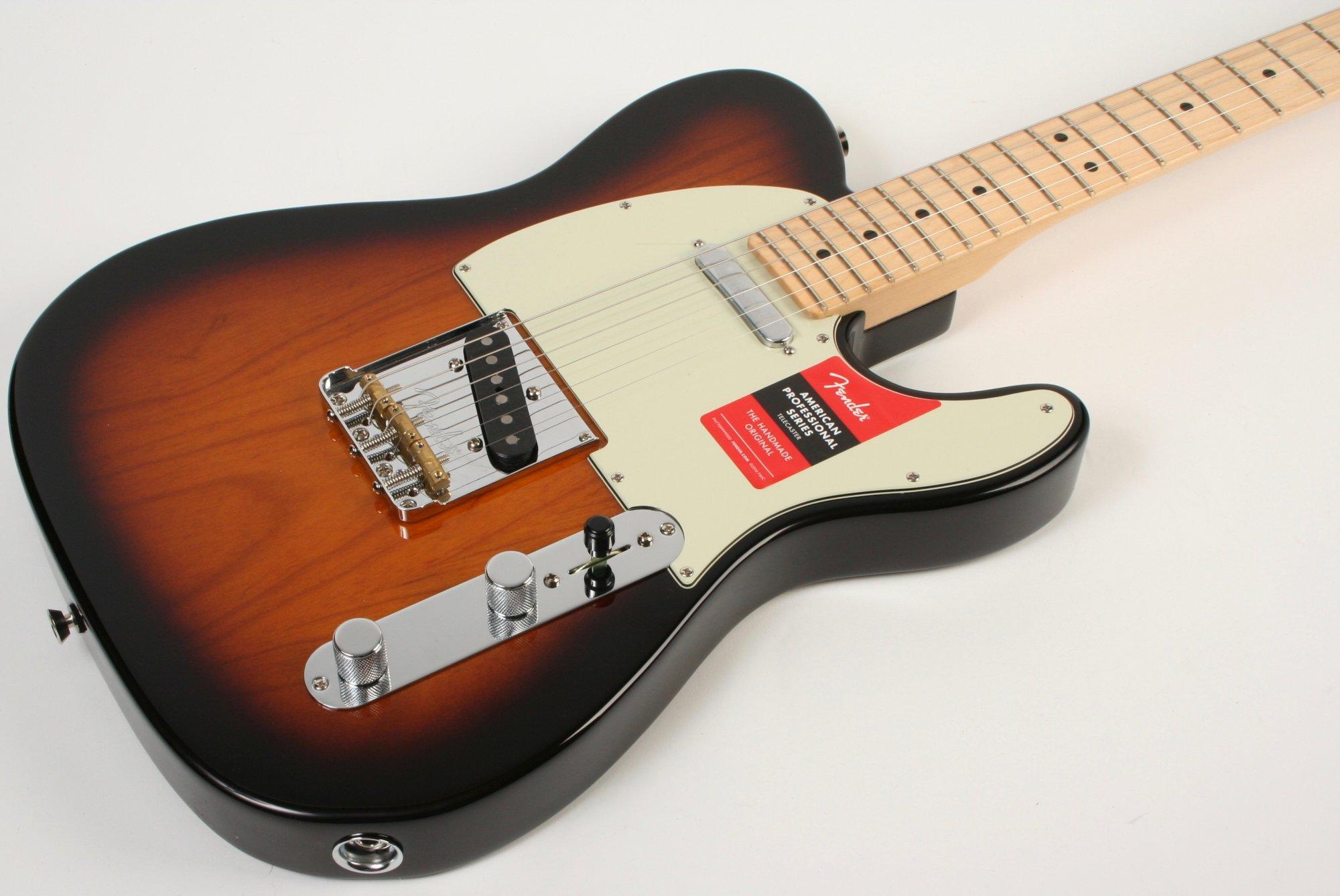 Fender American Pro,Telecaster MN 2 Tone Sunburst