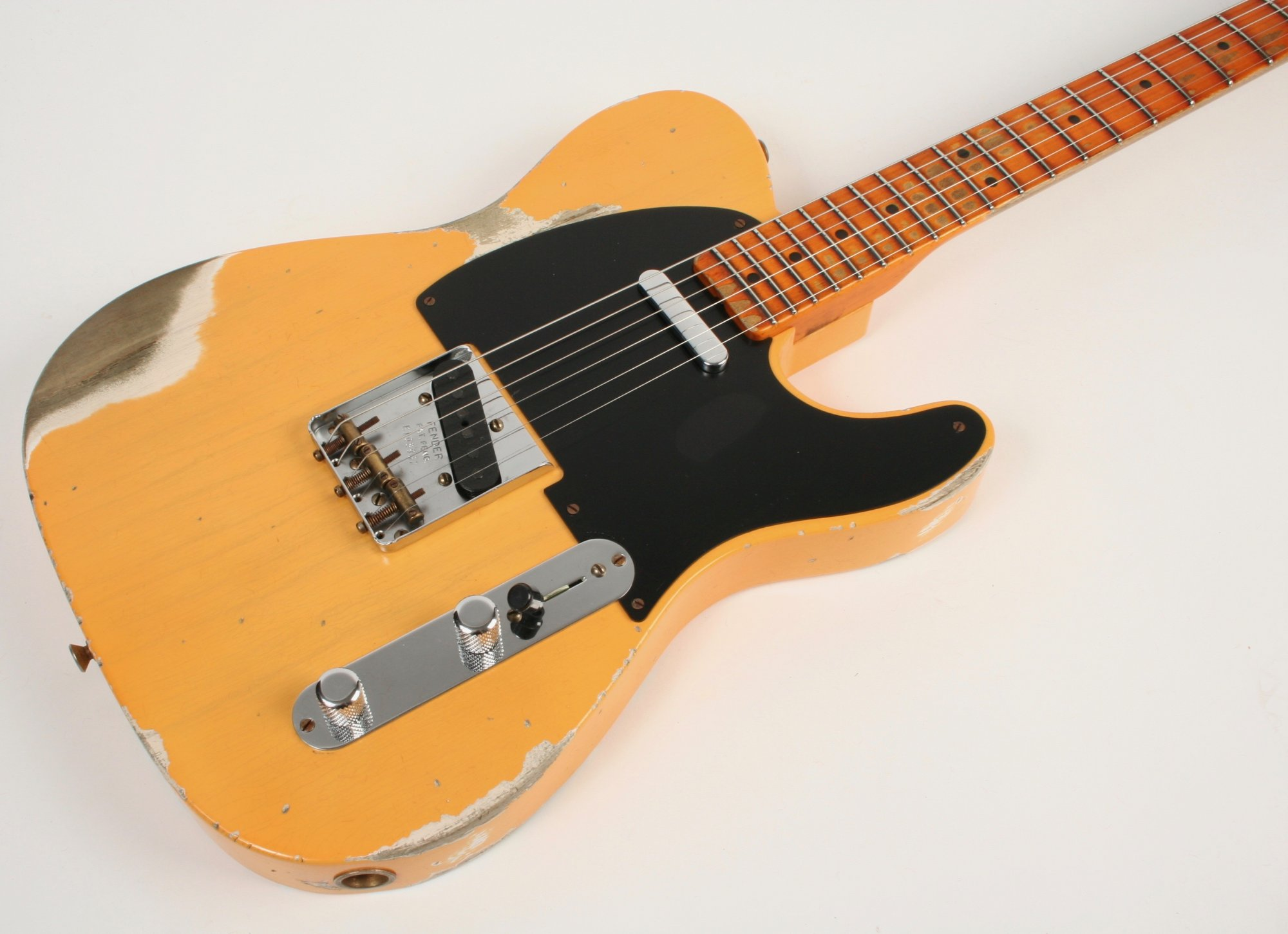 Fender Custom Shop Limited Edition 70th Anniversary Broadcaster Heavy Relic Nocaster Blonde