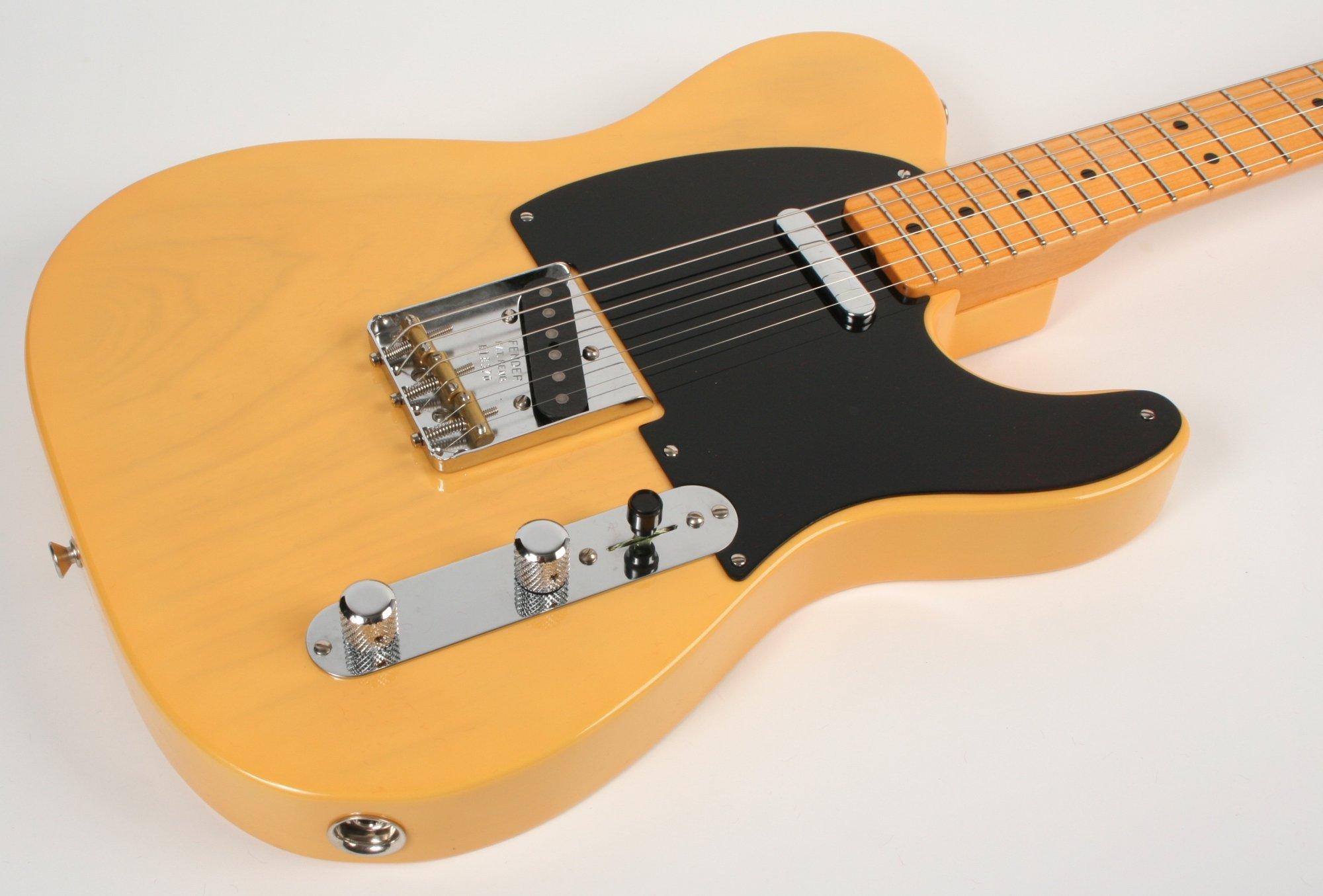 Fender Custom Shop Vintage Custom 1950 Double Esquire Nocaster Blonde