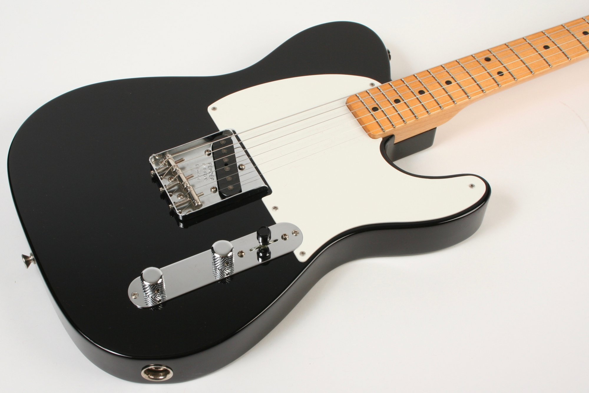 Fender Custom Shop Vintage Custom 1950 Pine Esquire Black