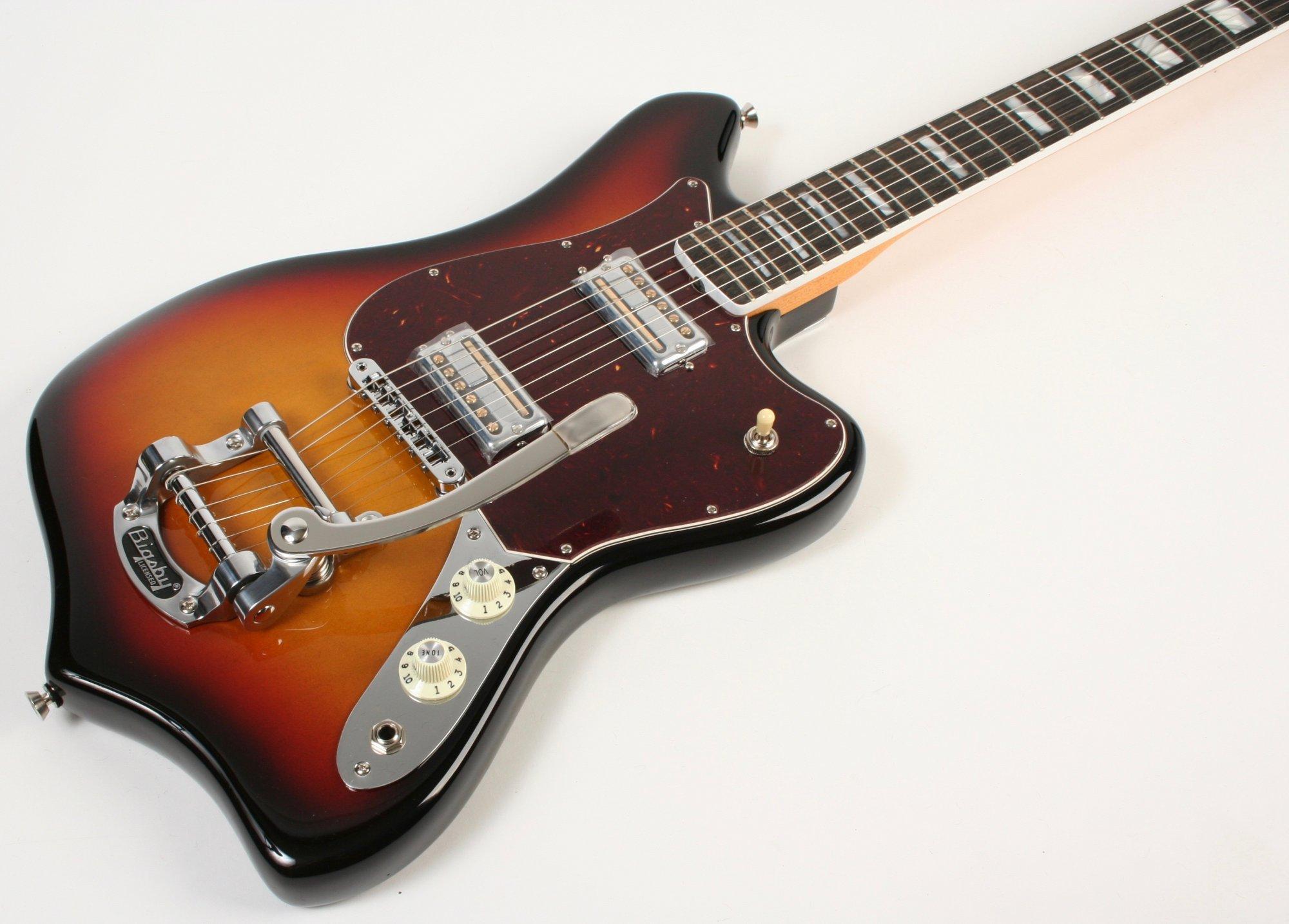 Fender Parallel Univers 2 Maverick Ultraburst