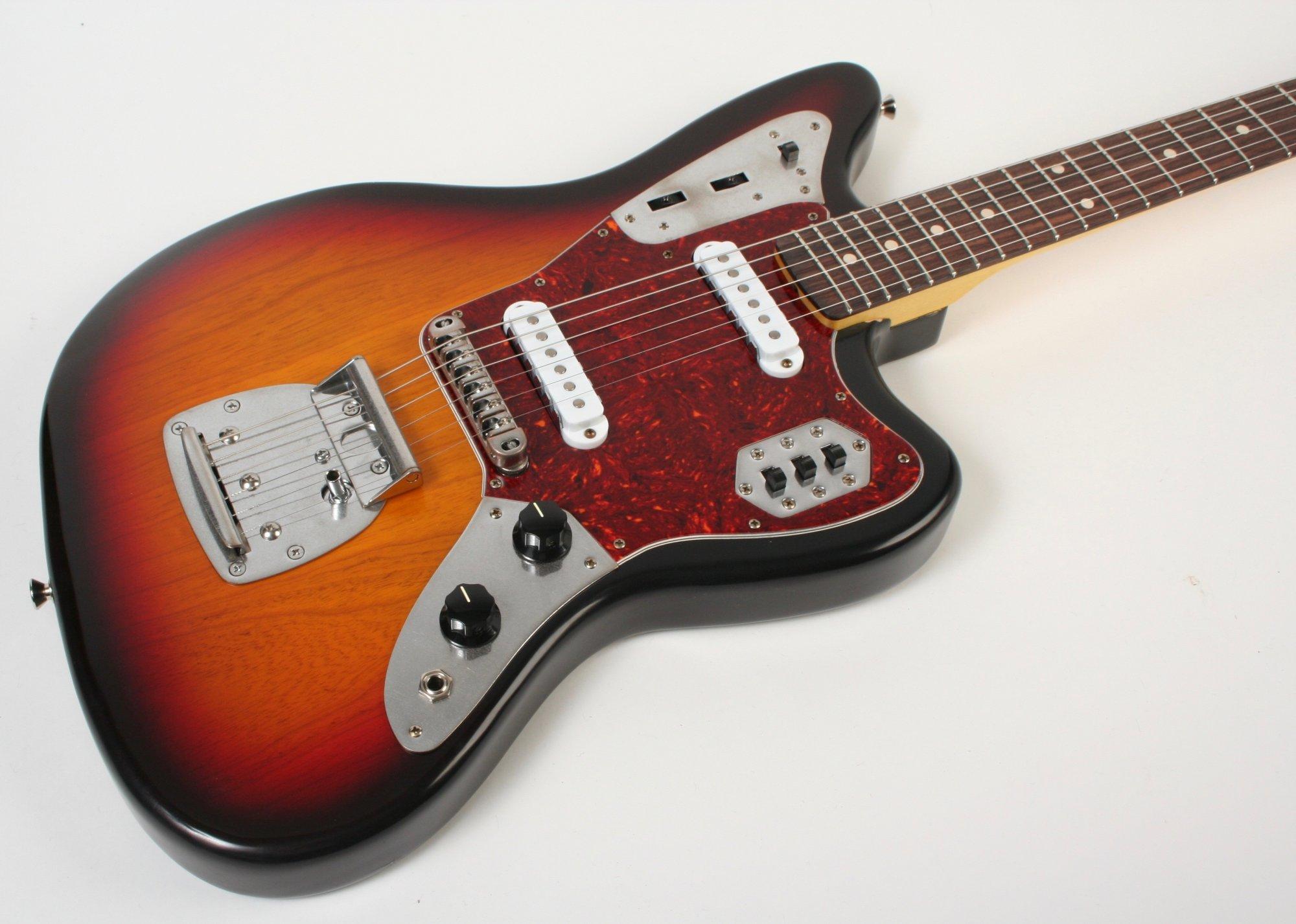 Nash Guitars JG-63 3 Tone Burst Extra Light