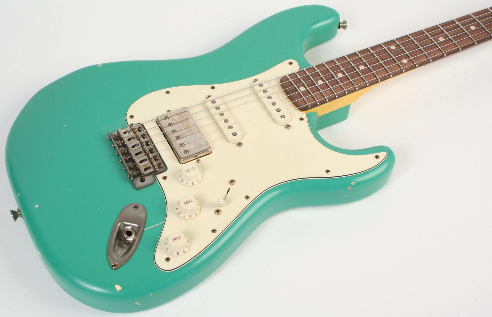 Nash Guitars S-67 HSS Seafoam Green