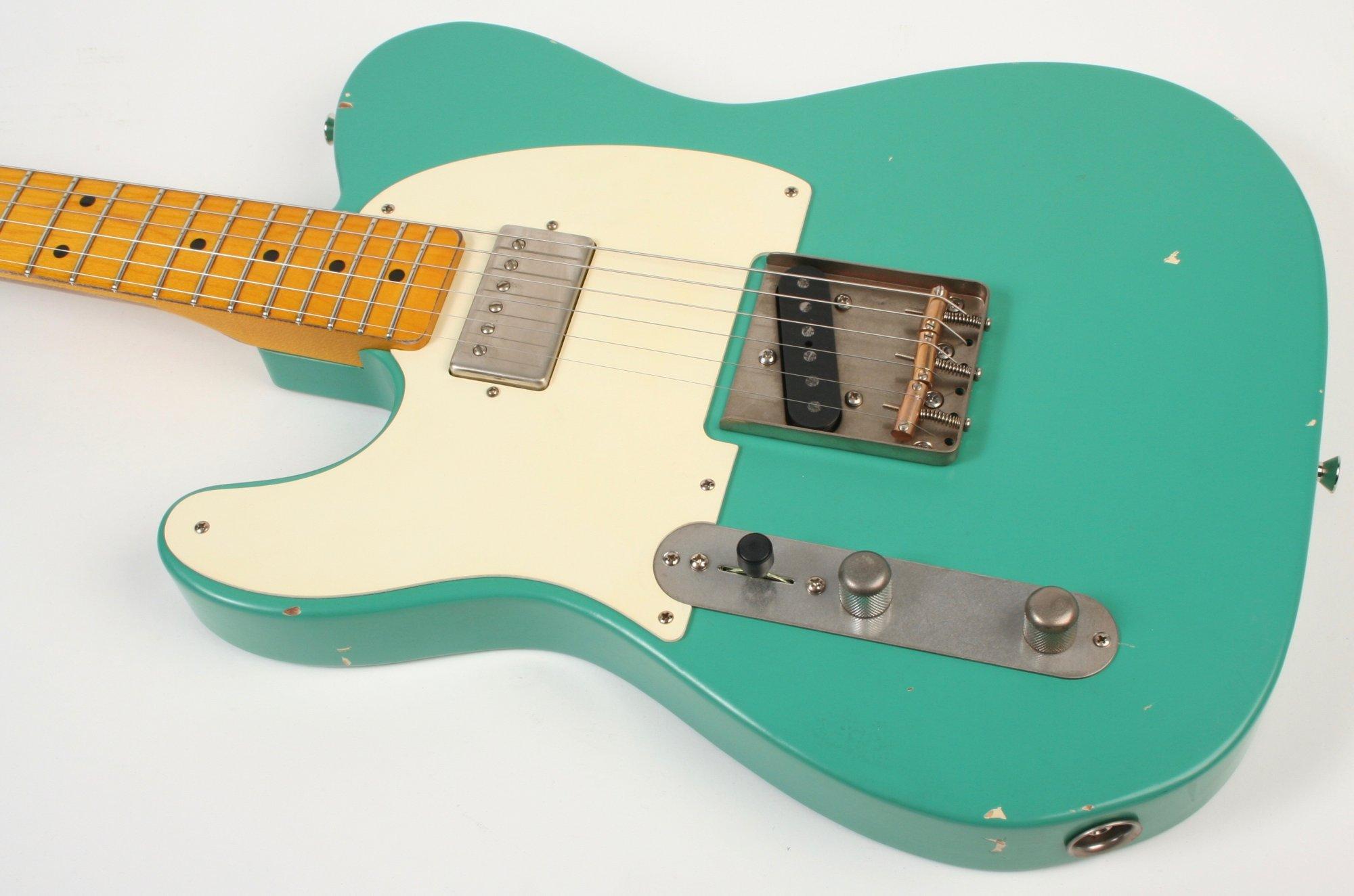 Nash Guitars T-57 Seafoam Green Humbucker Neck Lefty