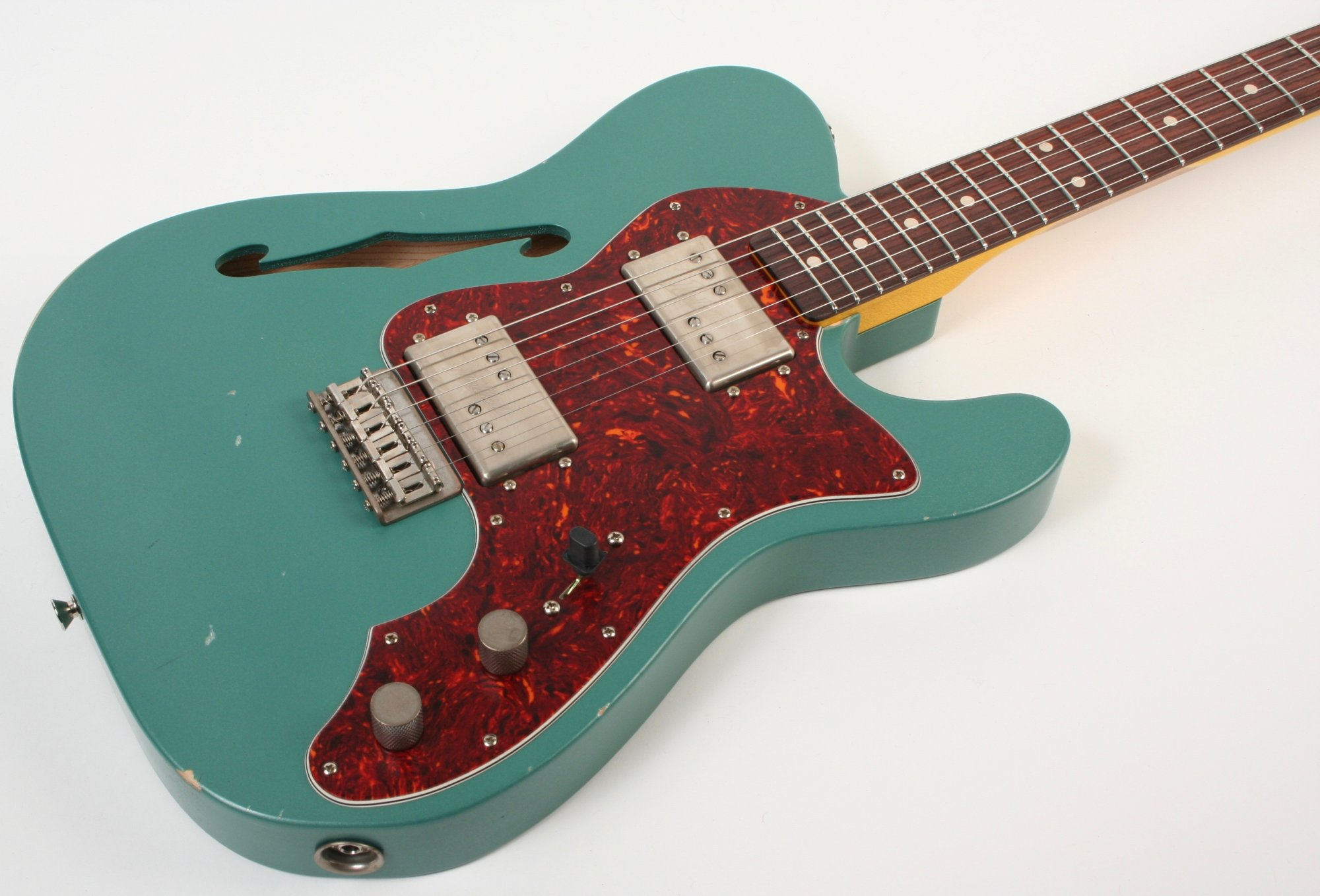 Nash Guitars T-72 TL Thinline Sherwood Green