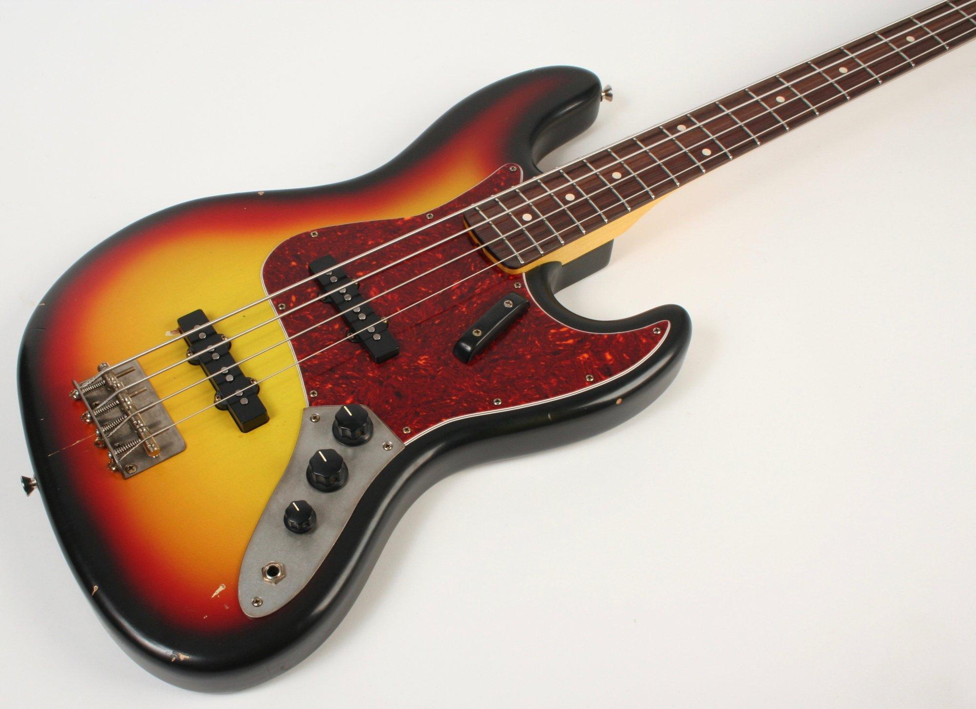 Nash Guitars JB-63 3 Tone Burst