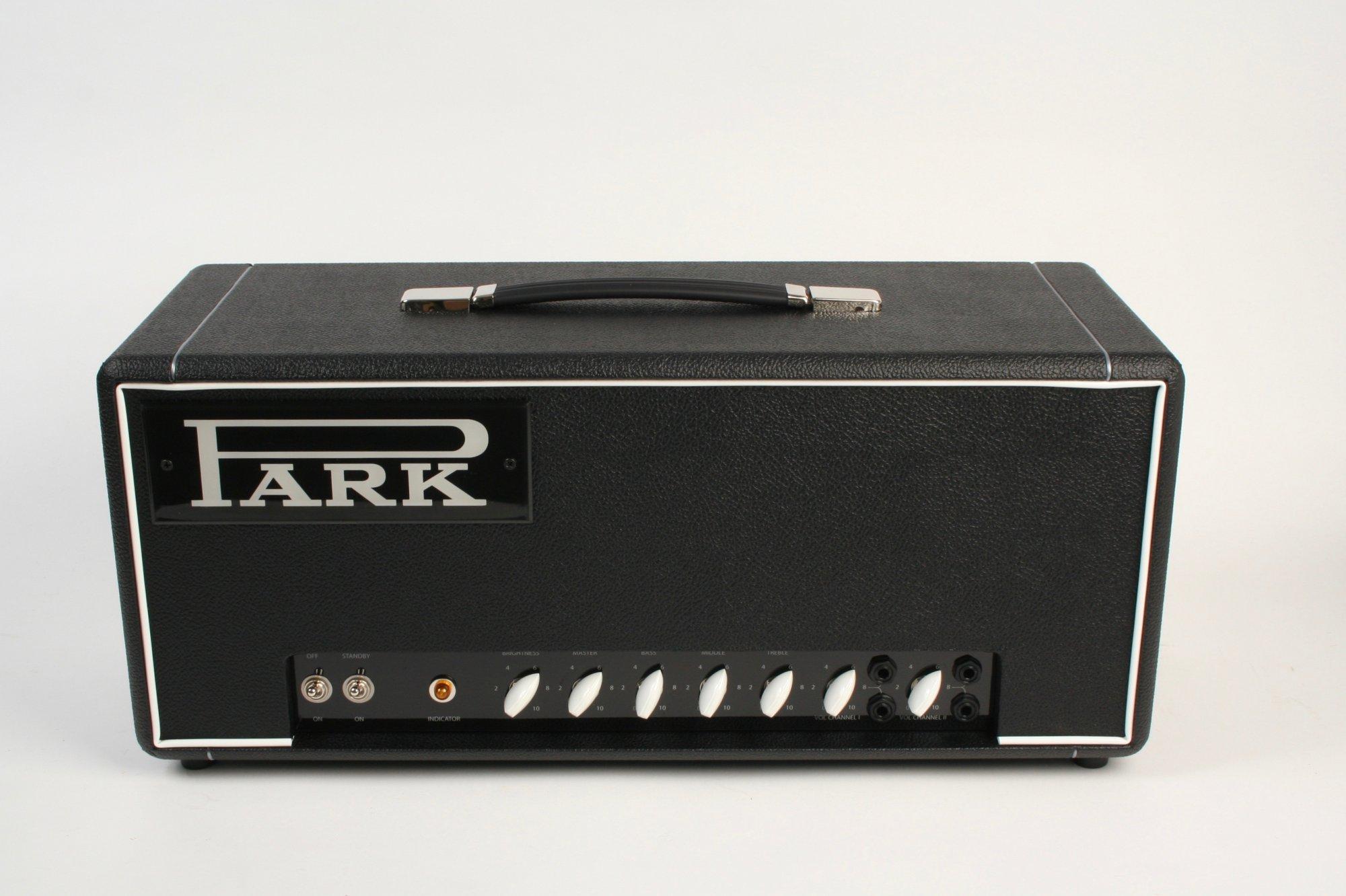 Park Amplifiers P50 Head Black