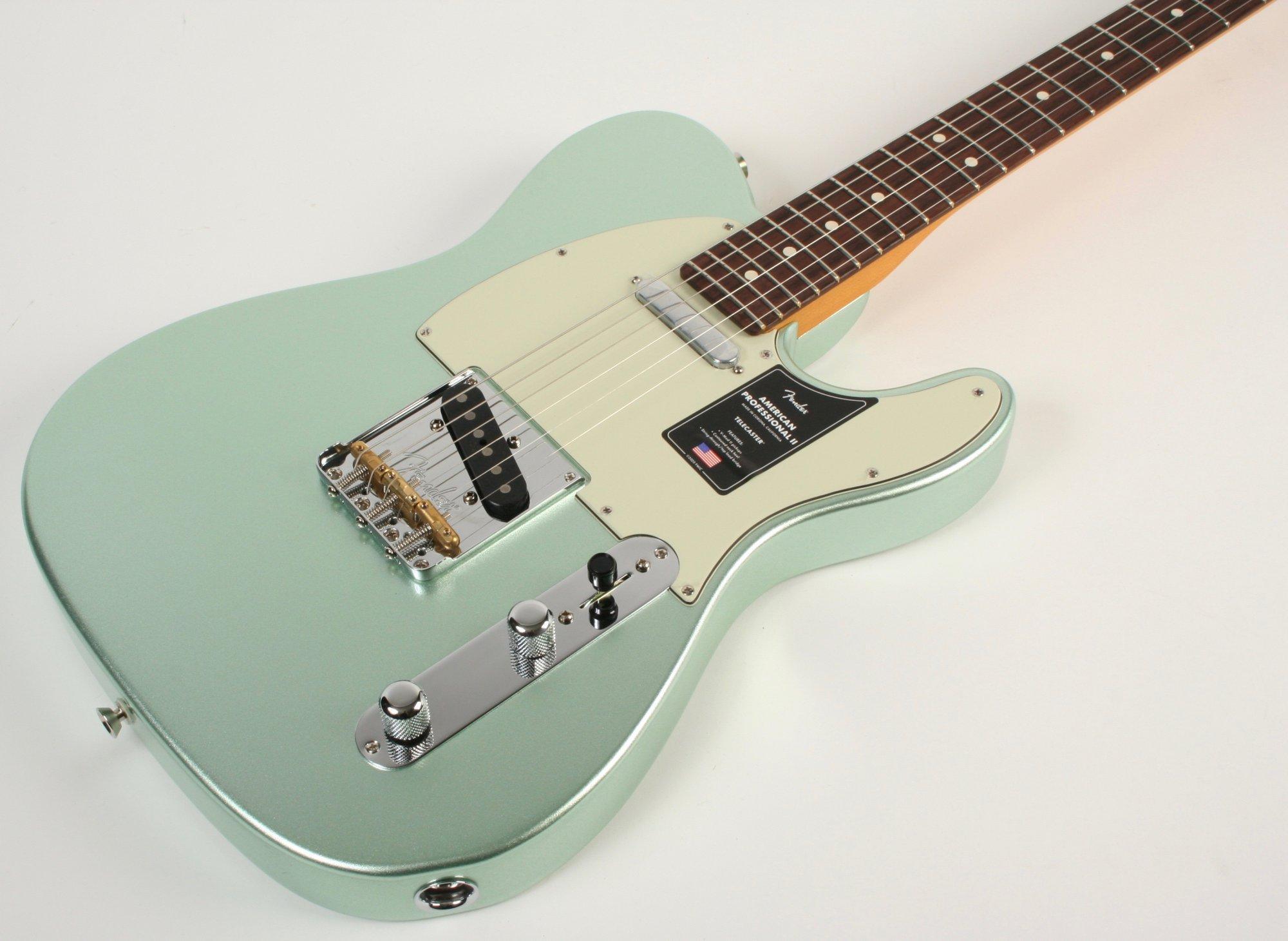 Fender American Pro II Telecaster Mystic Seafoam Green Rosewood