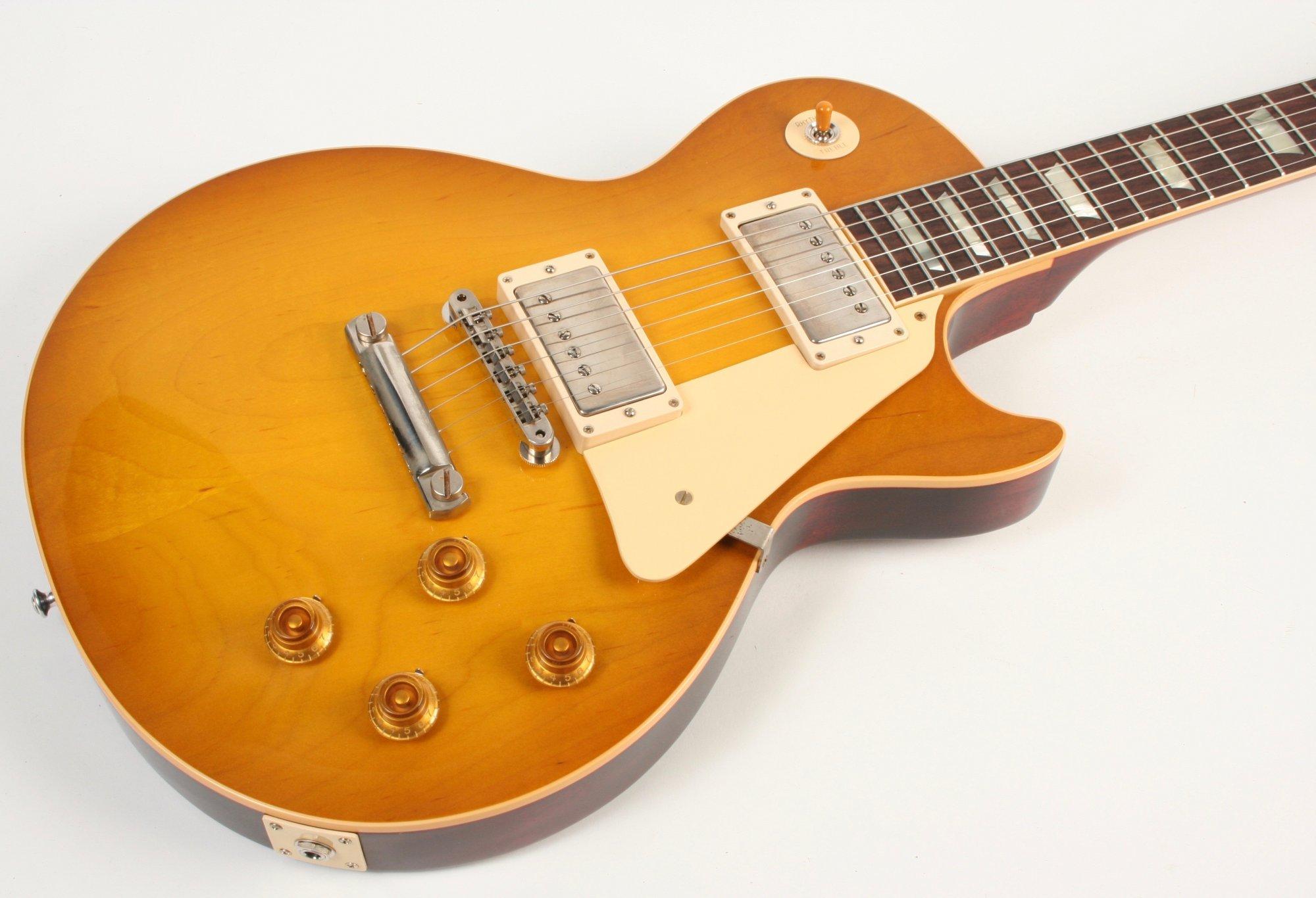Gibson Custom Shop 1958 Les Paul Standard Reissue Lemon Burst VOS 81010
