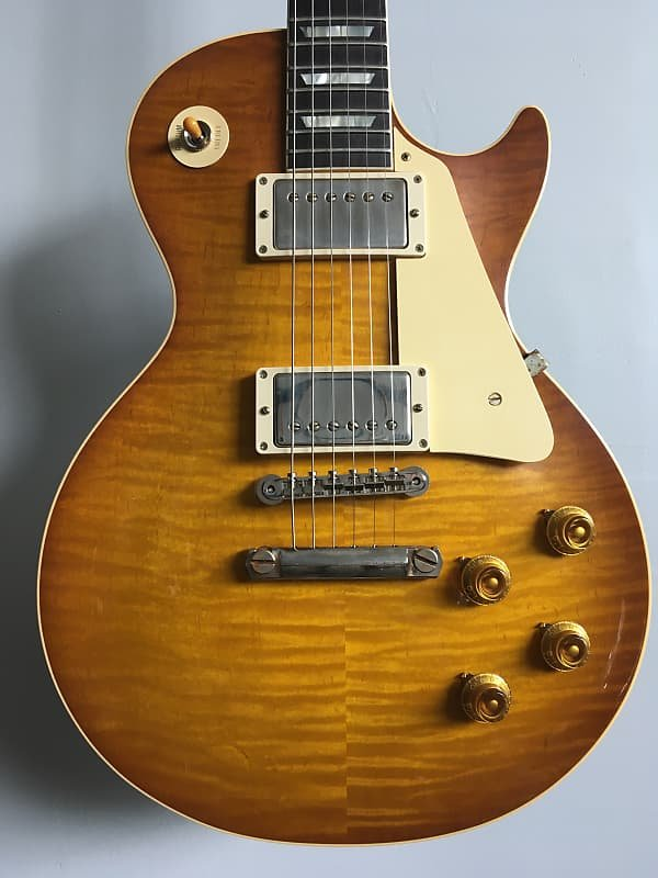Gibson Custom Shop 1959 Les Paul Standard Reissue VOS Dirty Lemon