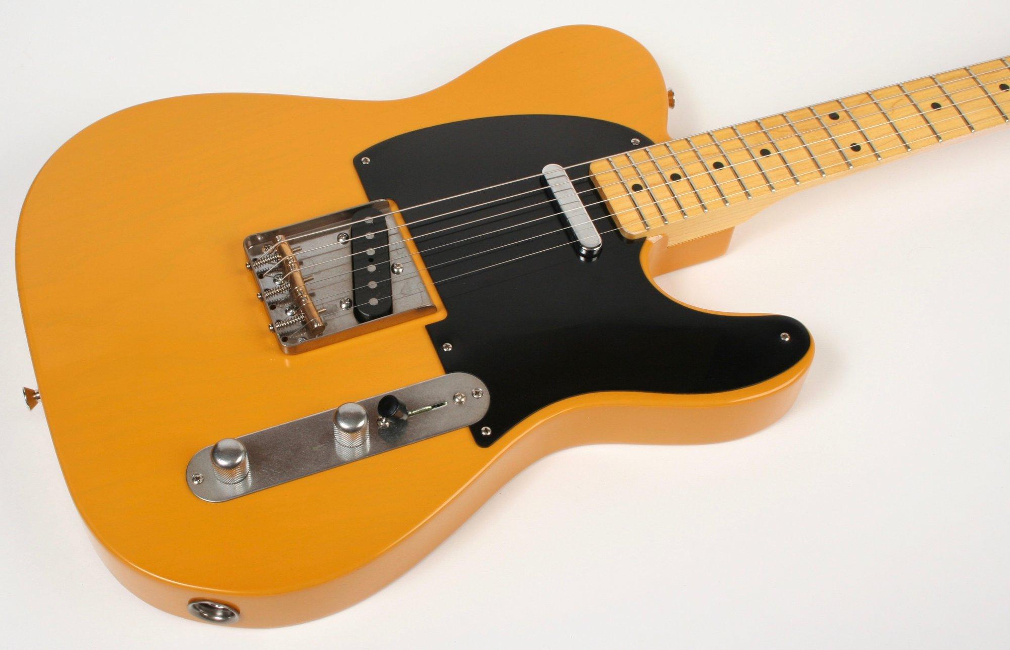 Nash Guitars T-52 Butterscotch Blonde Extra Light Aging