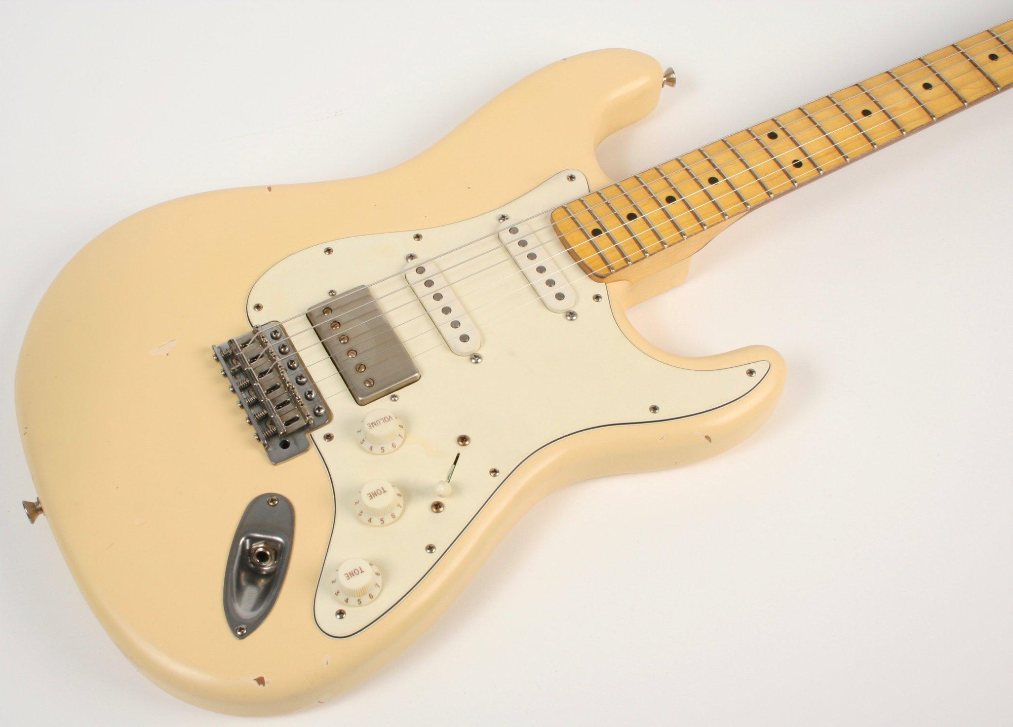 Nash Guitars S-67 HSS Vintage White Lollar Pickups