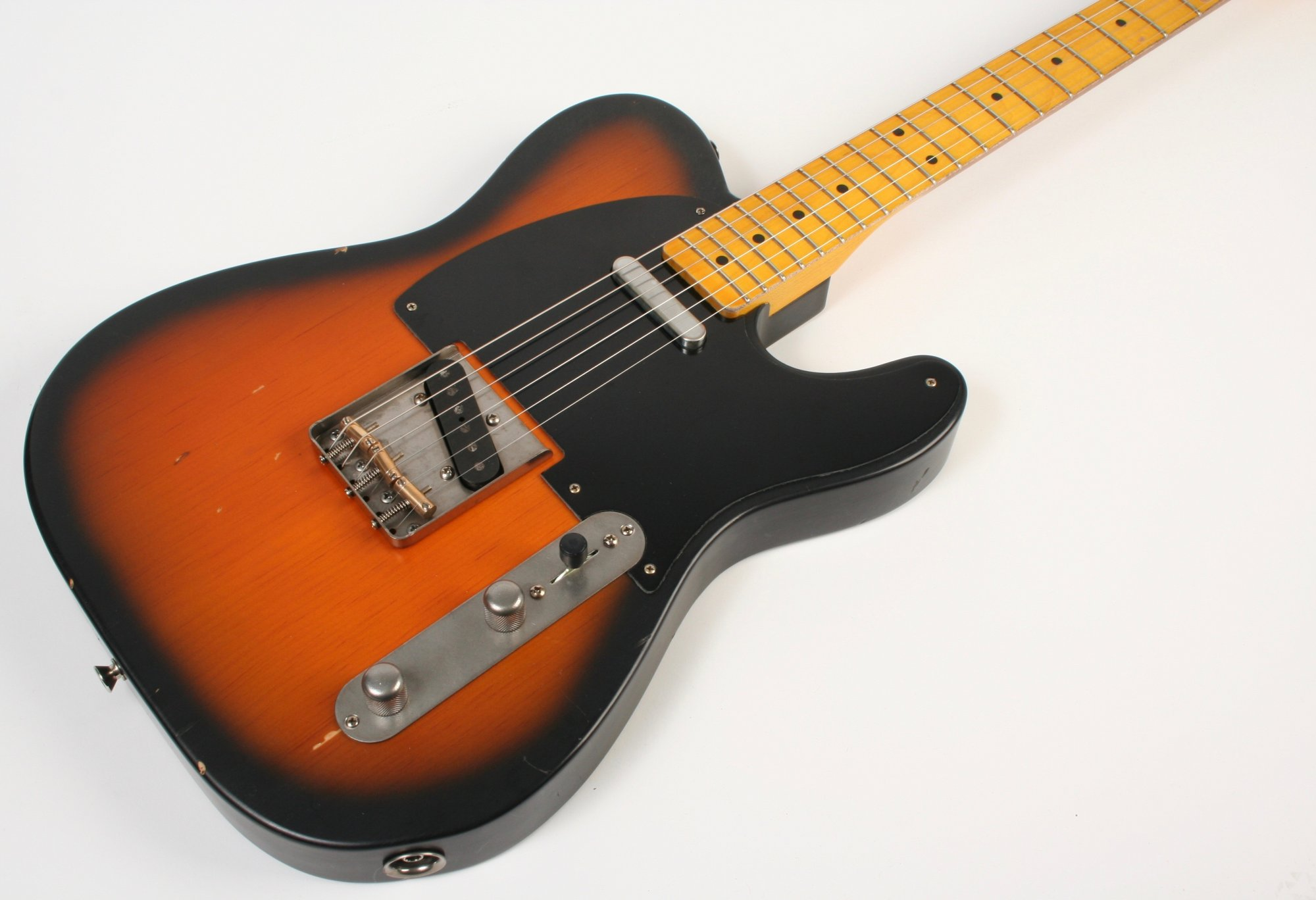 Nash Guitars T-52 Pine 2 Tone Sunburst Lollar Pickups
