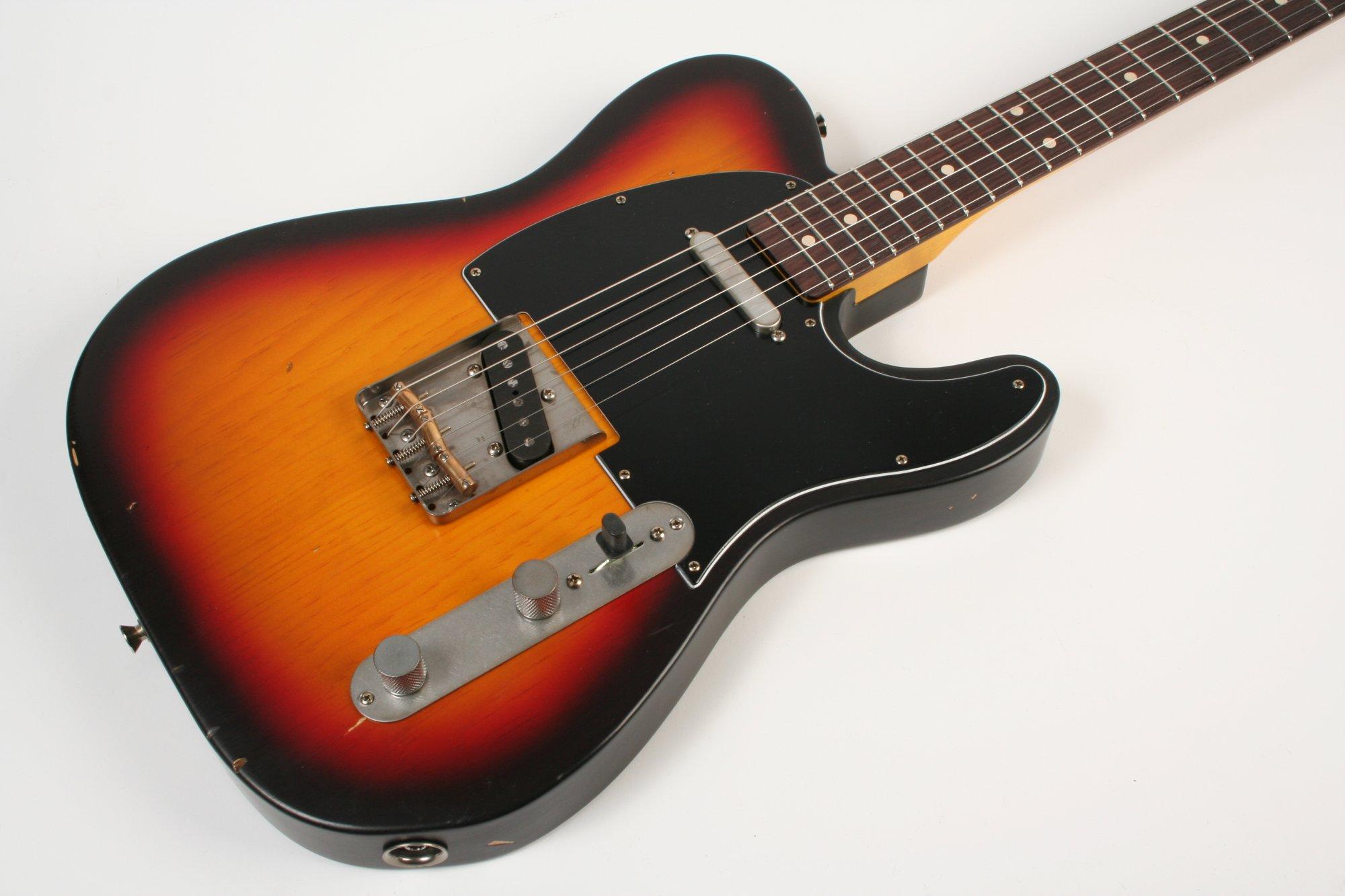 Nash Guitars T-63 Pine 3 Tone Sunburst Lollar Pickups
