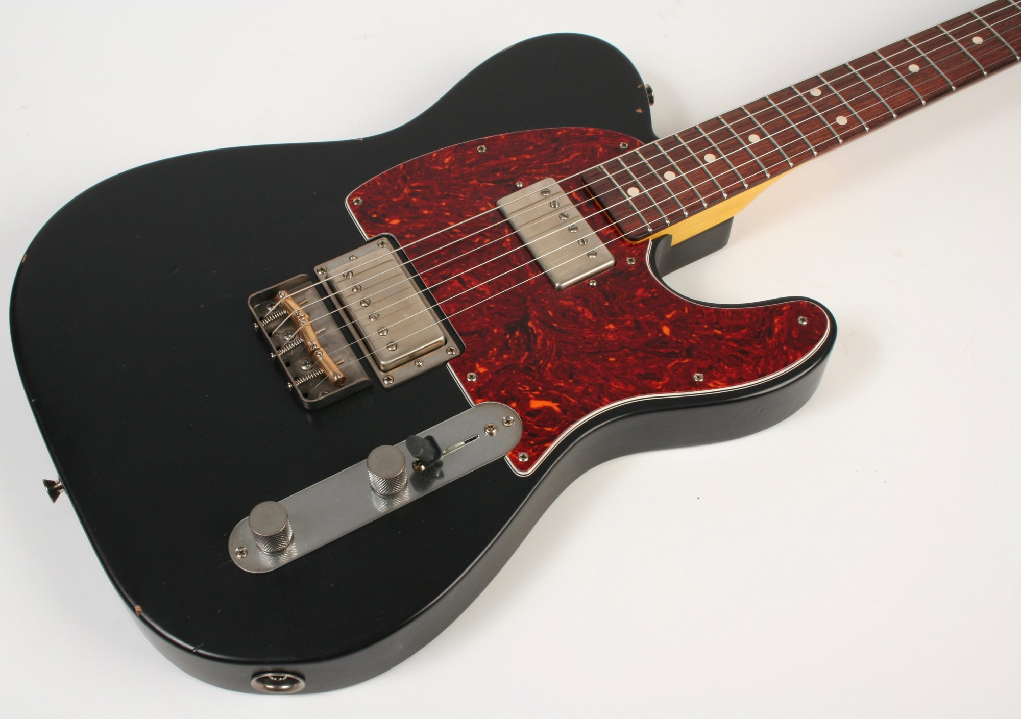 Nash Guitars T-2HB Black Lollar Imperial Humbuckers