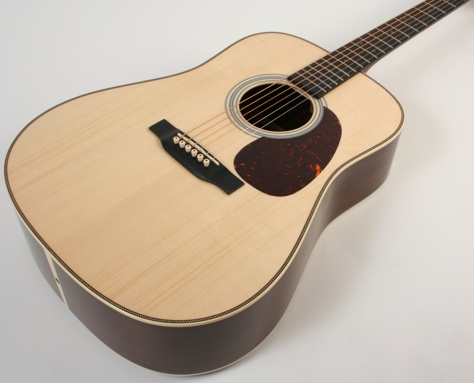 Martin Custom Shop Dreadnought D Size 28 Style Adirondack Top Modified Low Oval Neck Profile 1-11-16 Nut