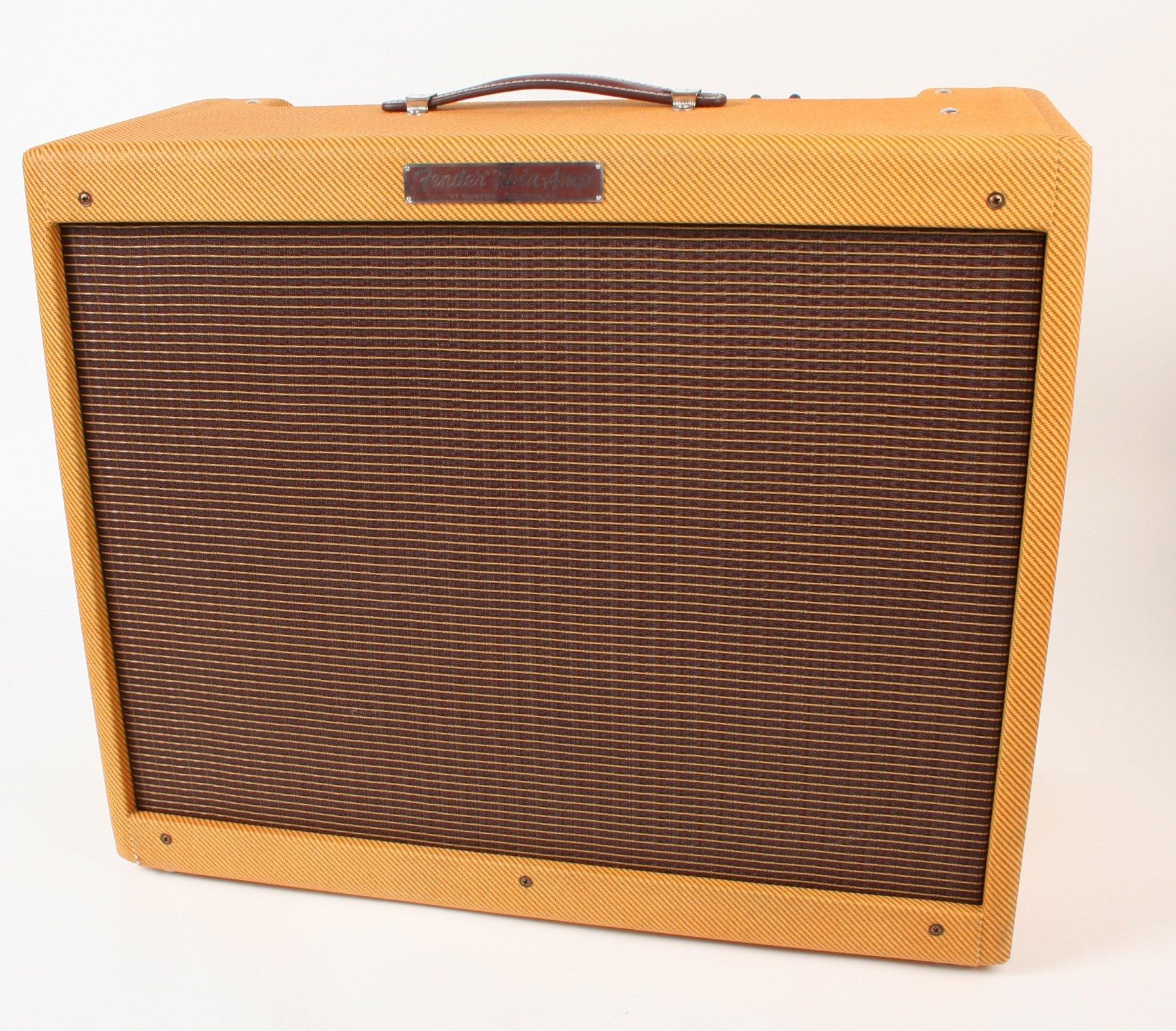 Fender 57 Custom Twin Amp Tweed
