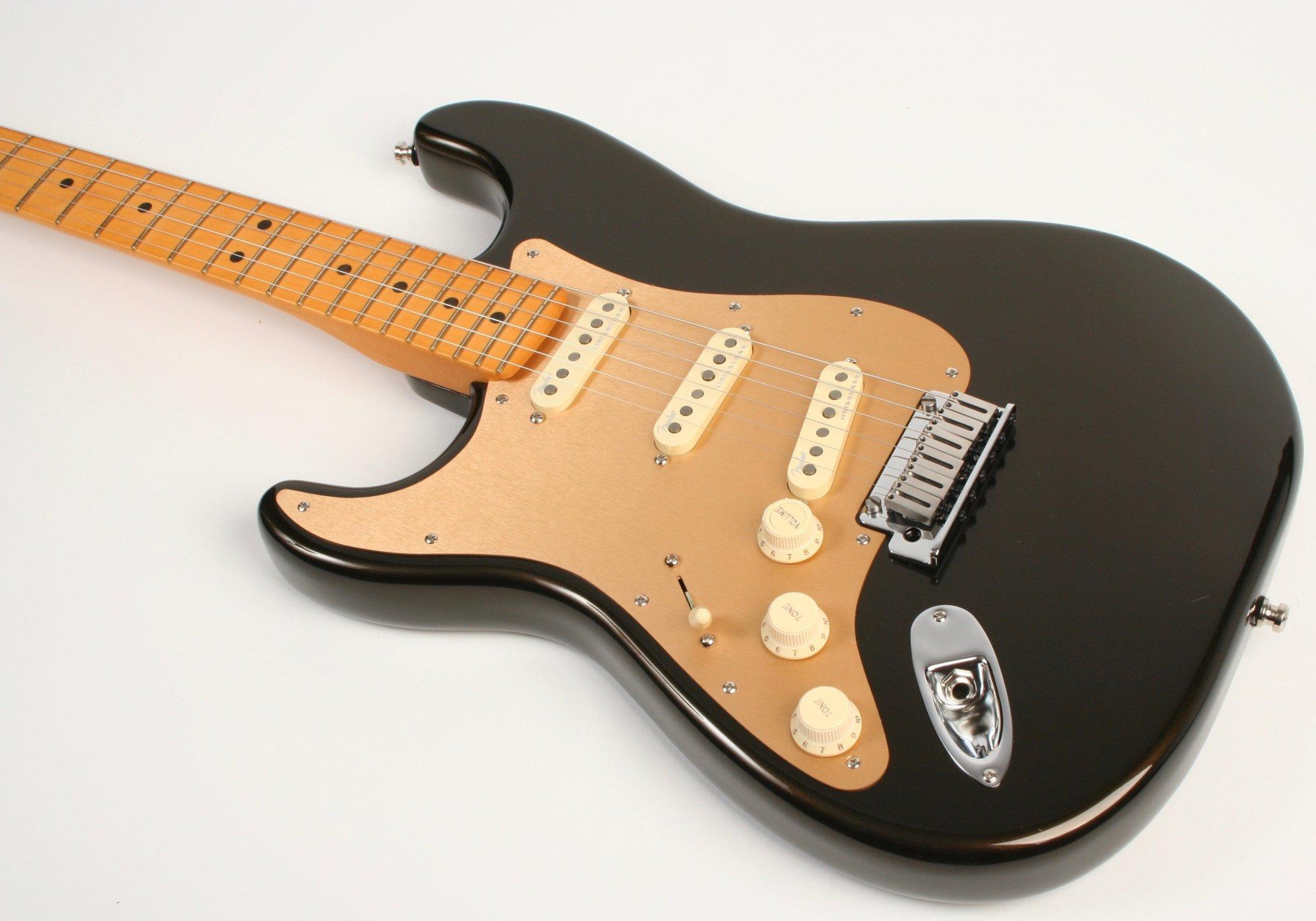 Fender American Ultra Stratocaster Left-Hand Texas Tea