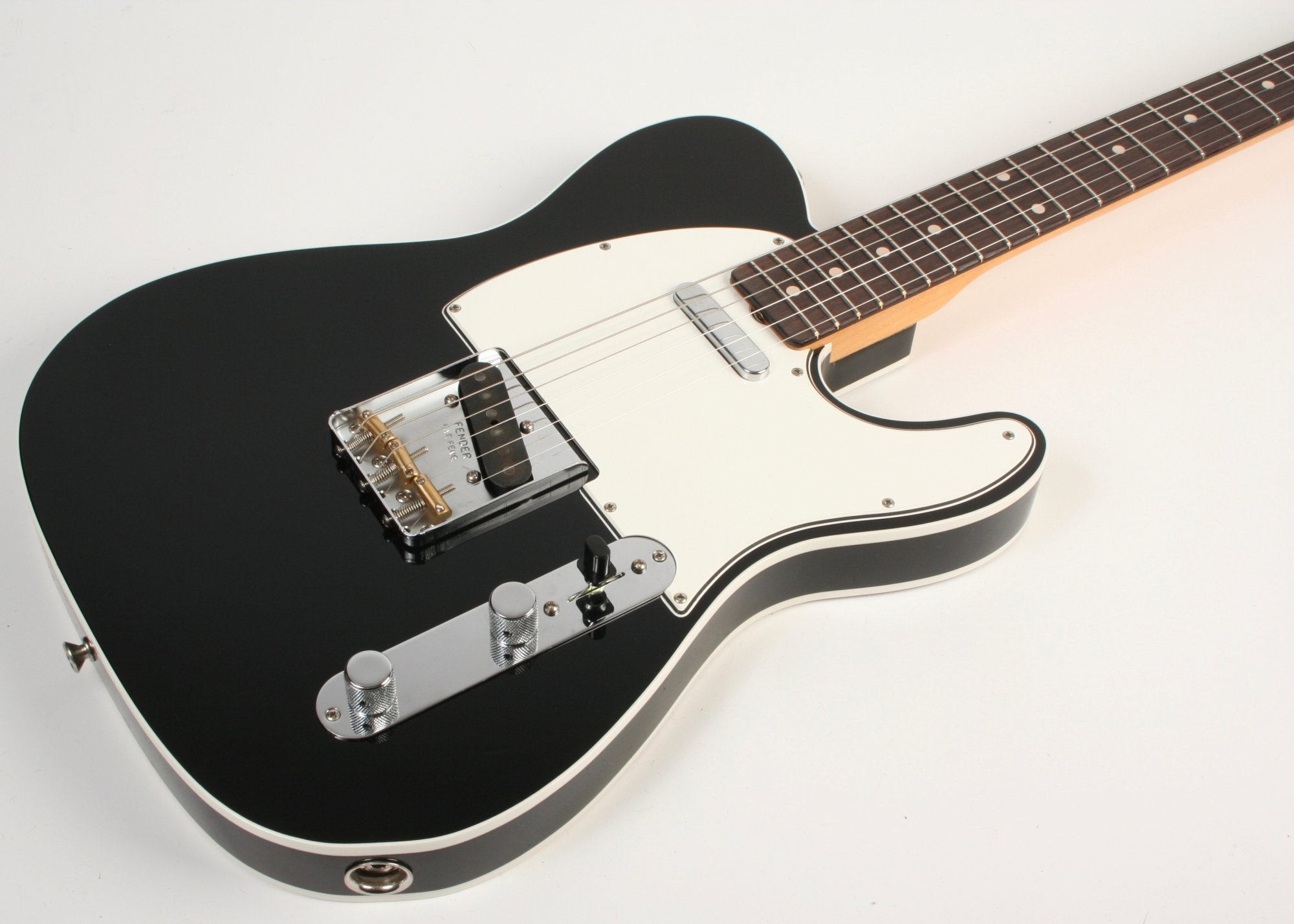 Fender Custom Shop Masterbuilt 1960 Telecaster Custom Closet Classic Black Greg Fessler MBGF