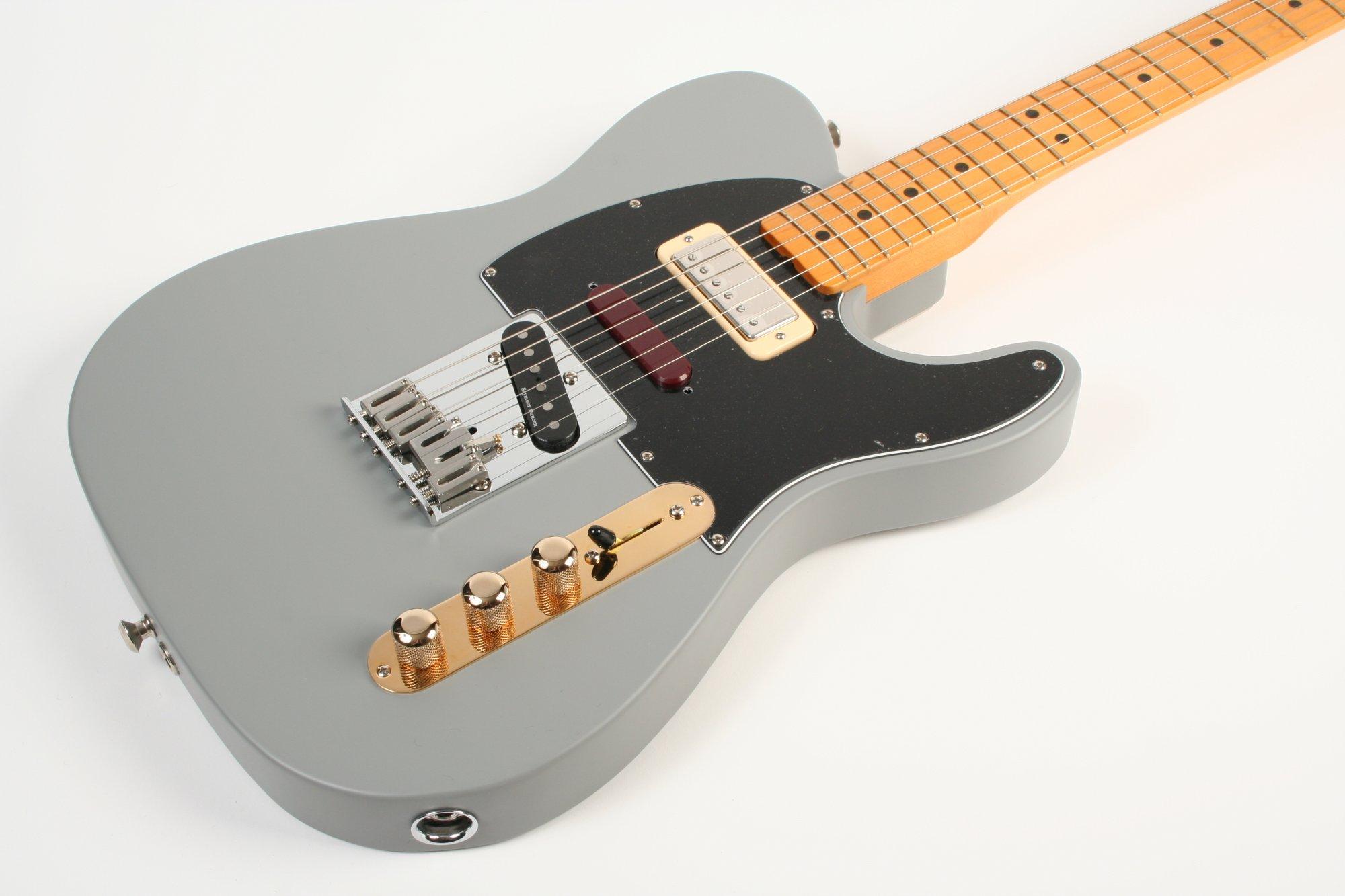 Fender Brent Mason Telecaster Maple Fingerboard Primer Gray