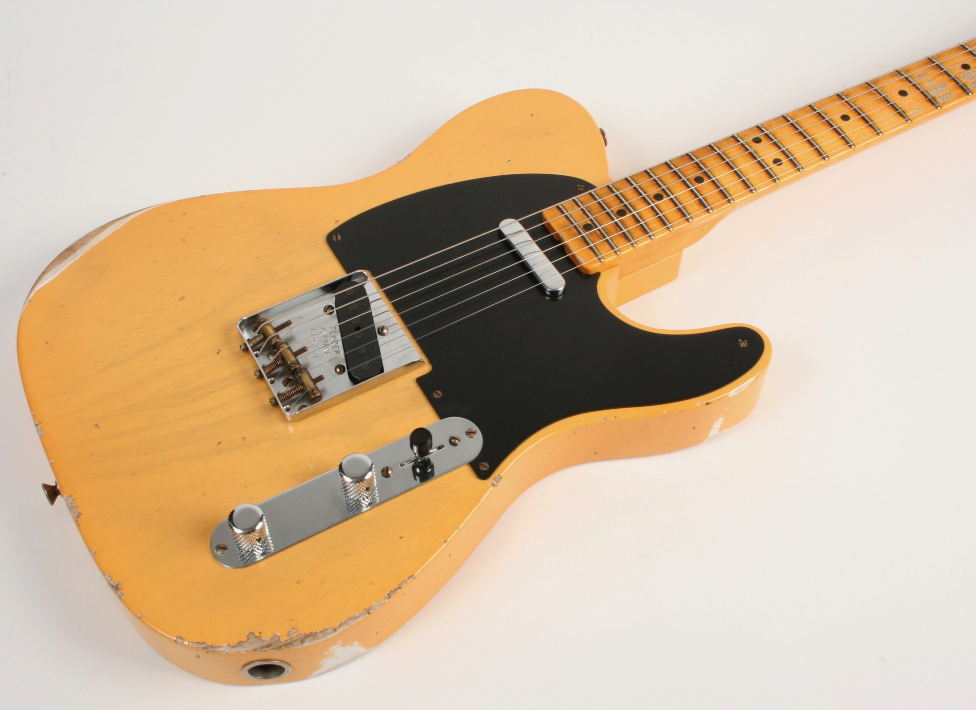 Fender Custom Shop Limited Edition 70th Anniversary Broadcaster Relic Aged Nocaster Blonde