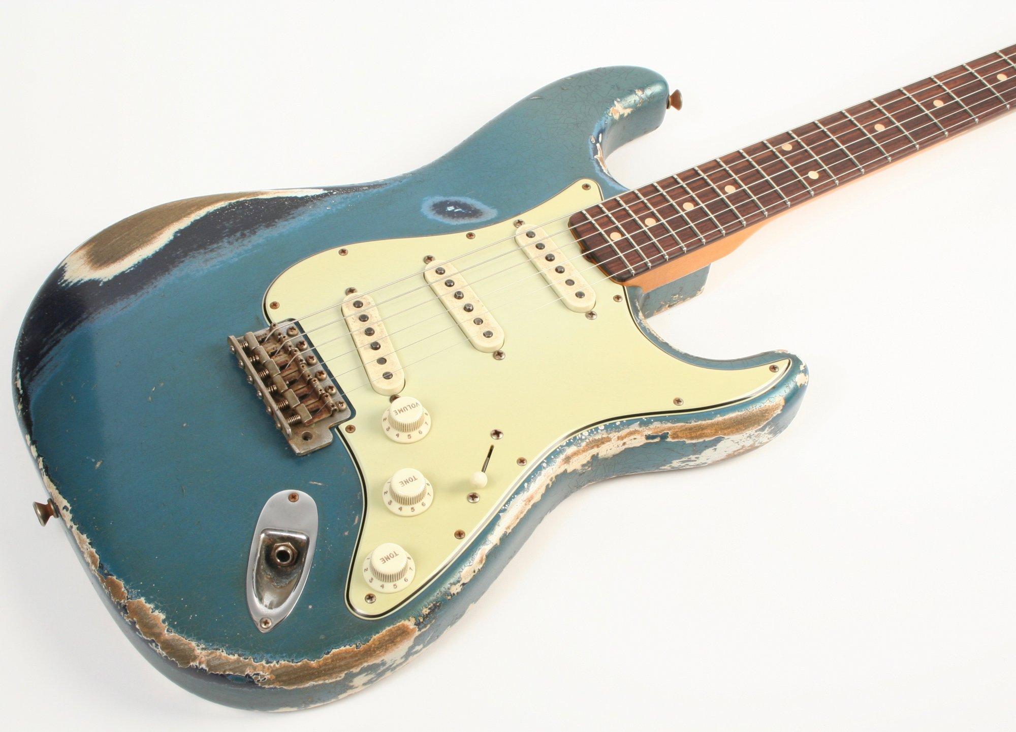 Fender Custom Shop 1961 Stratocaster Heavy Relic Masterbuilt Dale Wilson MBDW