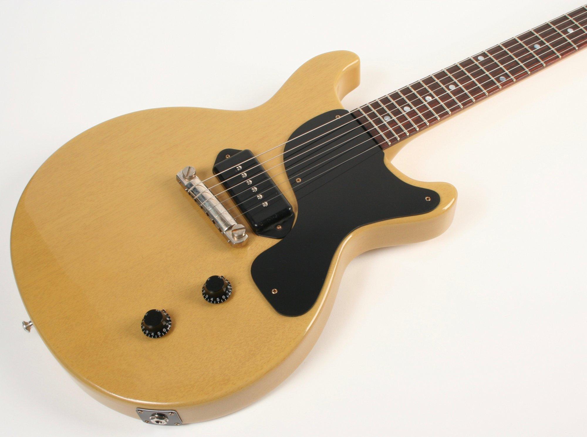 Gibson Custom Shop 1958 Les Paul Junior Double Cut Reissue VOS TV Yellow