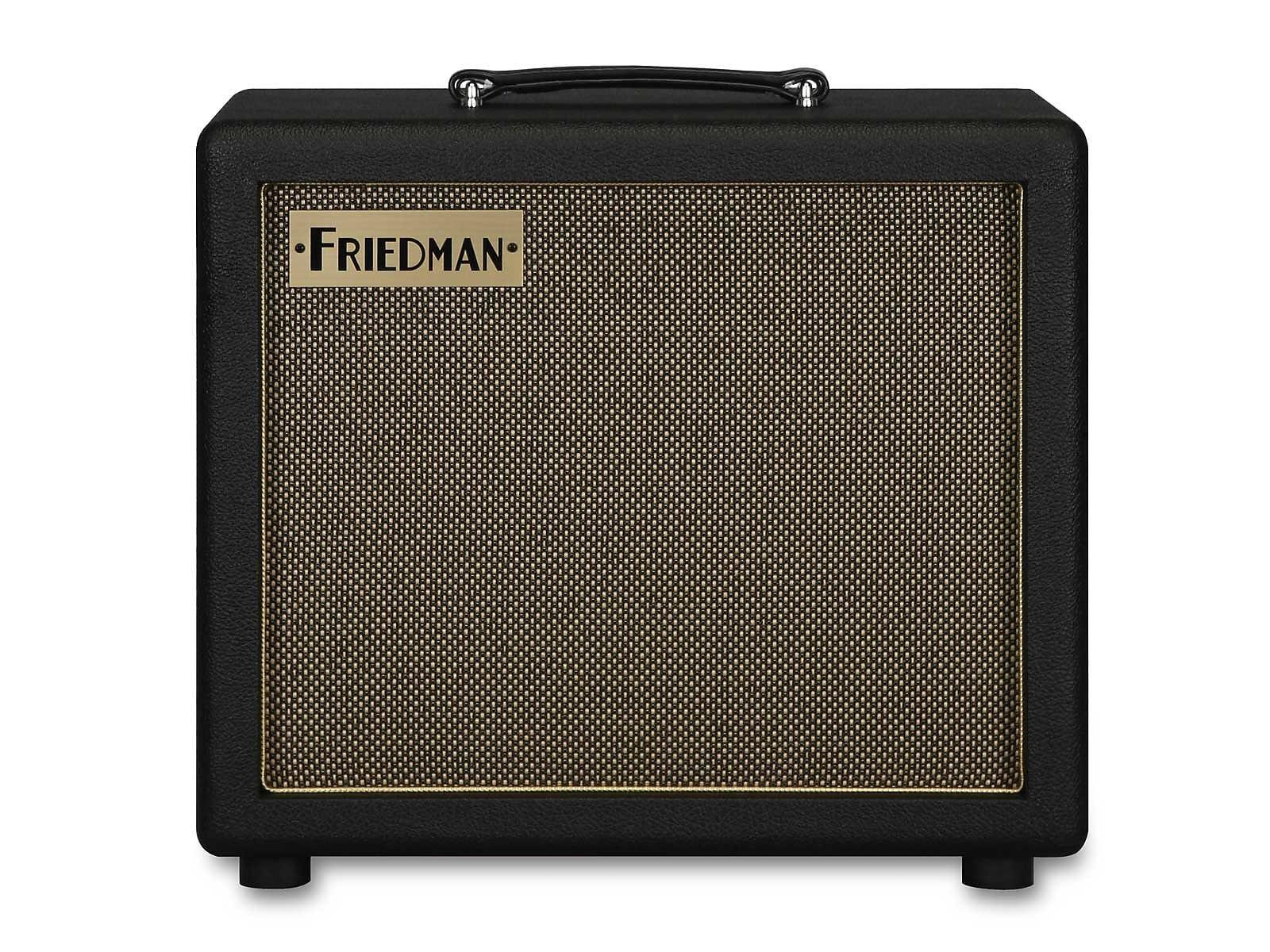 Friedman Runt 112 Cab Black Creamback