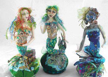Mermaid Pincushion