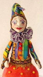 Perri~Jester Pincushion