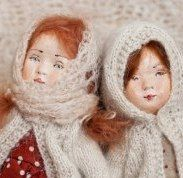 Vintage Style Cloth and Clay doll tutorial