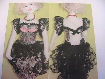 Lady in Lace Bra Doll