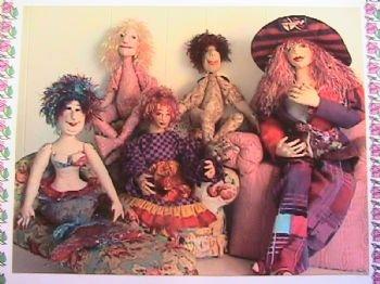 Doll Hair Knitted
