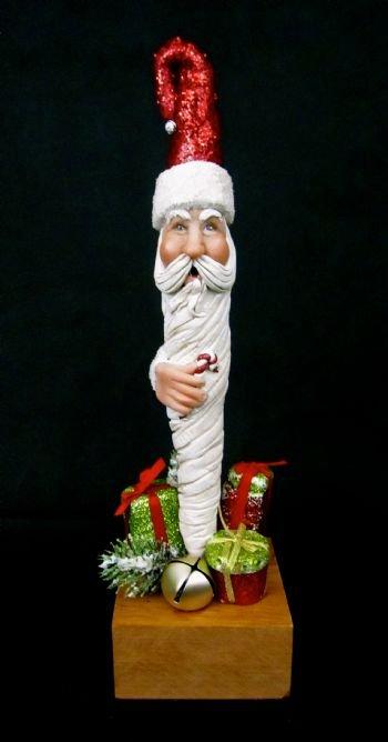 Santa on a Stick
