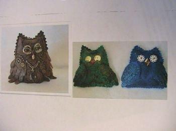Giving a Hoot~Owl Ornaments