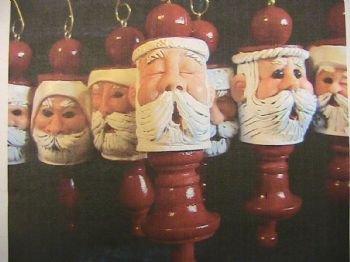 Wooden Spool Santa Class
